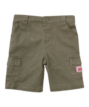 Khaki Twill Shorts - Infant, Toddler & Boys