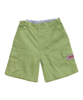 Leaf Twill Shorts - Infant, Toddler & Boys