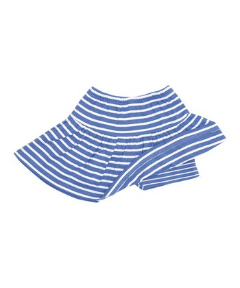 Cornflower Stripe Skort - Infant, Toddler & Girls