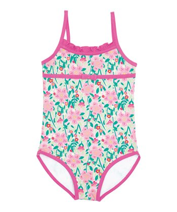 Tropical One-Piece - Toddler & Girls