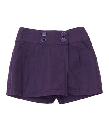 Mulberry Twill Skort - Infant, Toddler & Girls