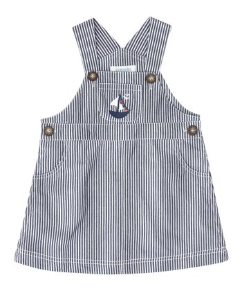 Blue Nautical Stripe Jumper - Infant, Toddler & Girls