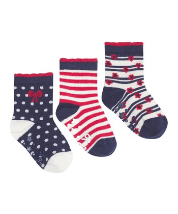 Navy Socks Set