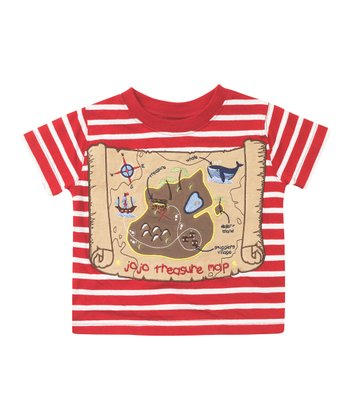 Red Pirate Map Tee - Infant, Toddler & Boys