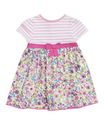 Pink Meadow Dress - Infant, Toddler & Girls