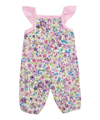 Pink Meadow Romper - Infant