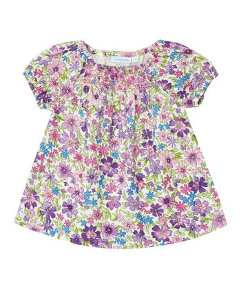 Pink Meadow Smocked Top - Infant, Toddler & Girls