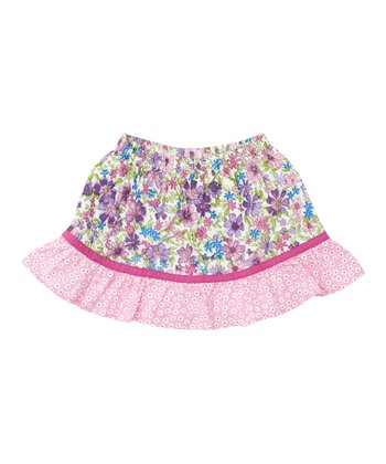 Pink Meadow Skirt - Infant, Toddler & Girls