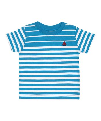 Blue Stripe Breton Tee - Infant, Toddler & Boys