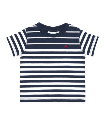 Navy Stripe Breton Tee - Infant, Toddler & Boys