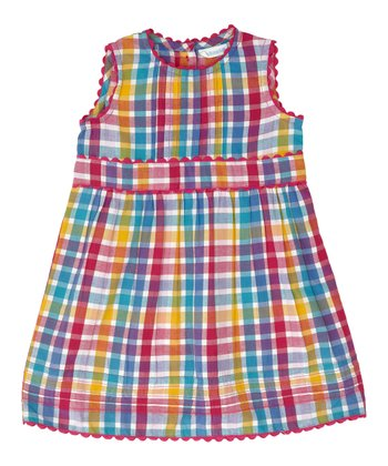 Rainbow Plaid Dress - Infant, Toddler & Girls