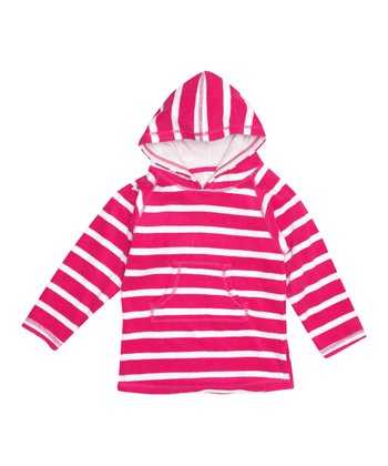 Orchid Stripe Terry Cloth Cover-Up - Infant, Toddler & Girls