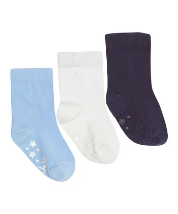 Blue Short Socks Set