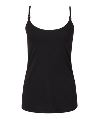 Black Secret Support Nursing Camisole