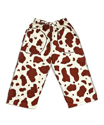 Brown Cow Pants - Infant & Toddler