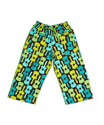 Turquoise Guitar Pants - Infant, Toddler & Boys