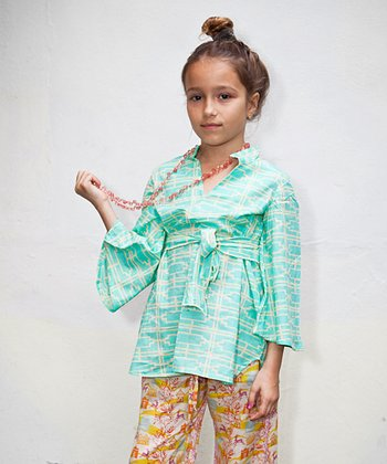 Turquoise Turkus Tunic - Infant, Toddler & Girls