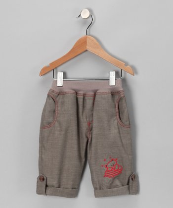 Milk Coffee Pants - Infant, Toddler & Girls