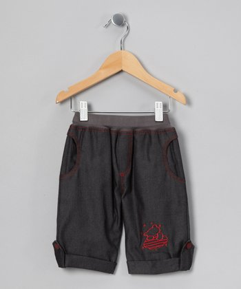 Soft Black Pants - Infant, Toddler & Girls