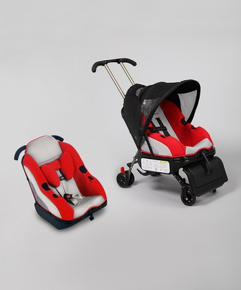 Red Sit 'n' Stroll Convertible Stroller