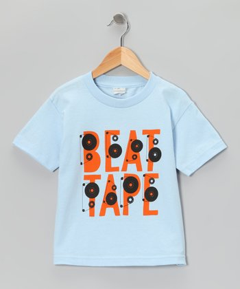 Powder Blue 'Beat Tape' Tee - Toddler & Boys
