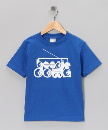 Royal 'Boogie Down' Tee - Toddler & Boys