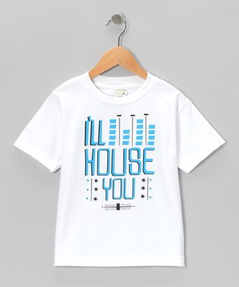 White 'I'll House You' Tee - Toddler & Boys