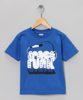 Royal 'Space Funk' Tee - Toddler & Boys