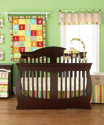 A to Z 4-Piece Crib Bedding Set