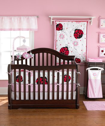 Pretty in Pink 5-Piece Crib Bedding Set