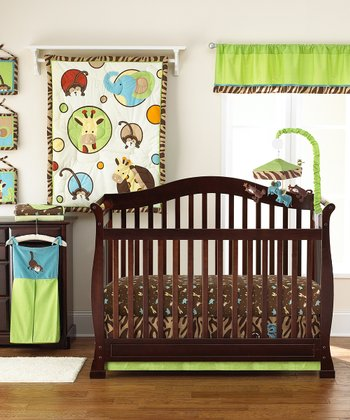 Zoo Zoo 4-Piece Crib Bedding Set