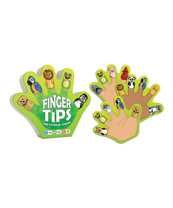 Animals Finger Tips Matching Game