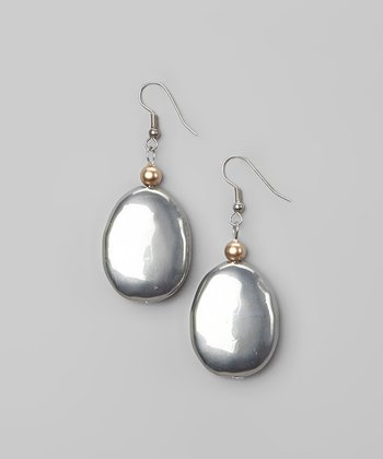 Silver & Gold Drop Earrings