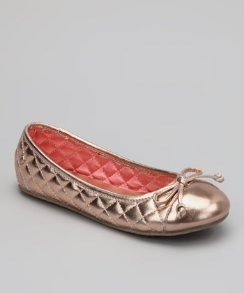 Rose Gold Miss Eva Flat