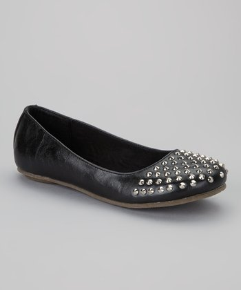 Black Miss Motomi Flat