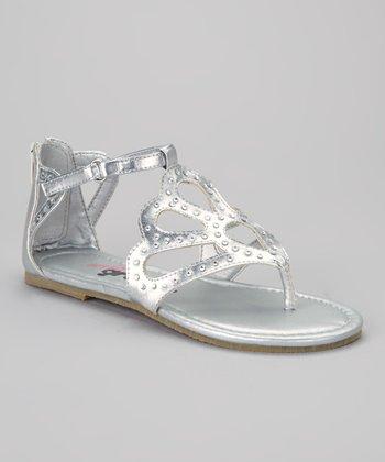 Silver Miss Sparks Sandal