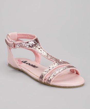 Pink Miss Zara T-Strap Sandal