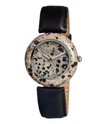 Black Leopard Jasper Watch