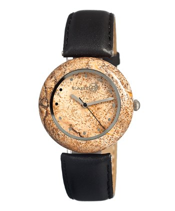 Black Picture Jasper Watch