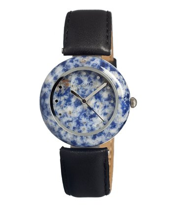 Black Sodalite Watch