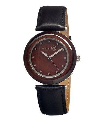 Black & Dark Brown Jasper Watch