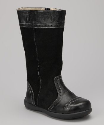 Black Kai Heather Boot