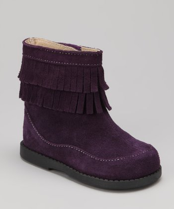 Purple Kelsey Boot
