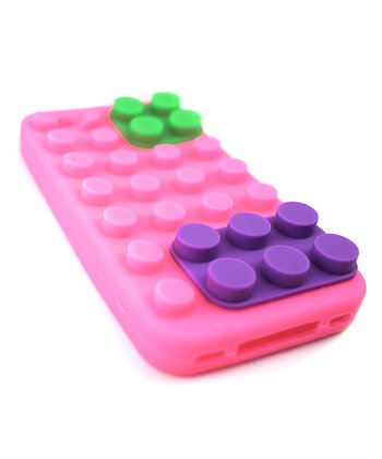 Pink Brick Case for iPhone 4/4S