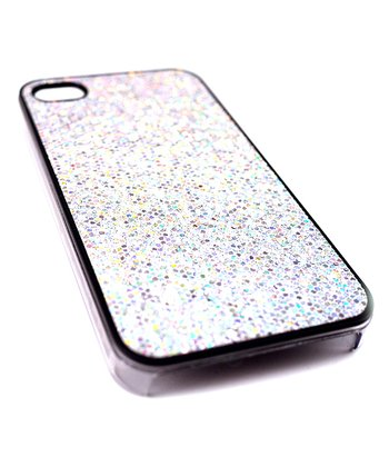 White Glamour Case for iPhone 5