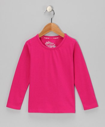 Pink Long-Sleeve Top - Toddler