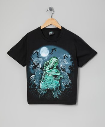 Black Fear Night Tee - Boys