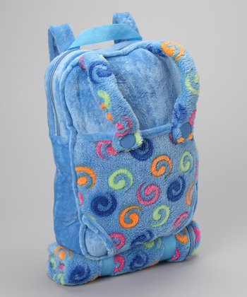 Blue Doll Backpack & Sleeping Bag