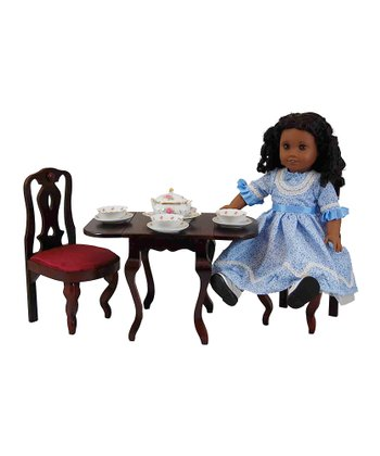 Drop-Leaf Doll Table Set