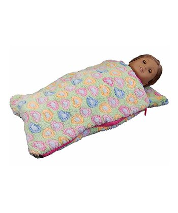 Green Doll Sleeping Bag
